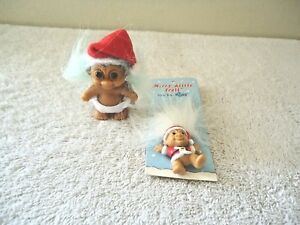 Lot-Of-2-034-NWT-034-Russ-Merry-Little-Trolls-1-Figure-1-Pin-034-GREAT-COLLECTIBLE-LOT