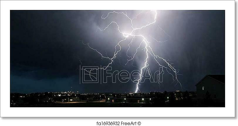 Extreme Weather Art Print Home Decor Wall Art Poster