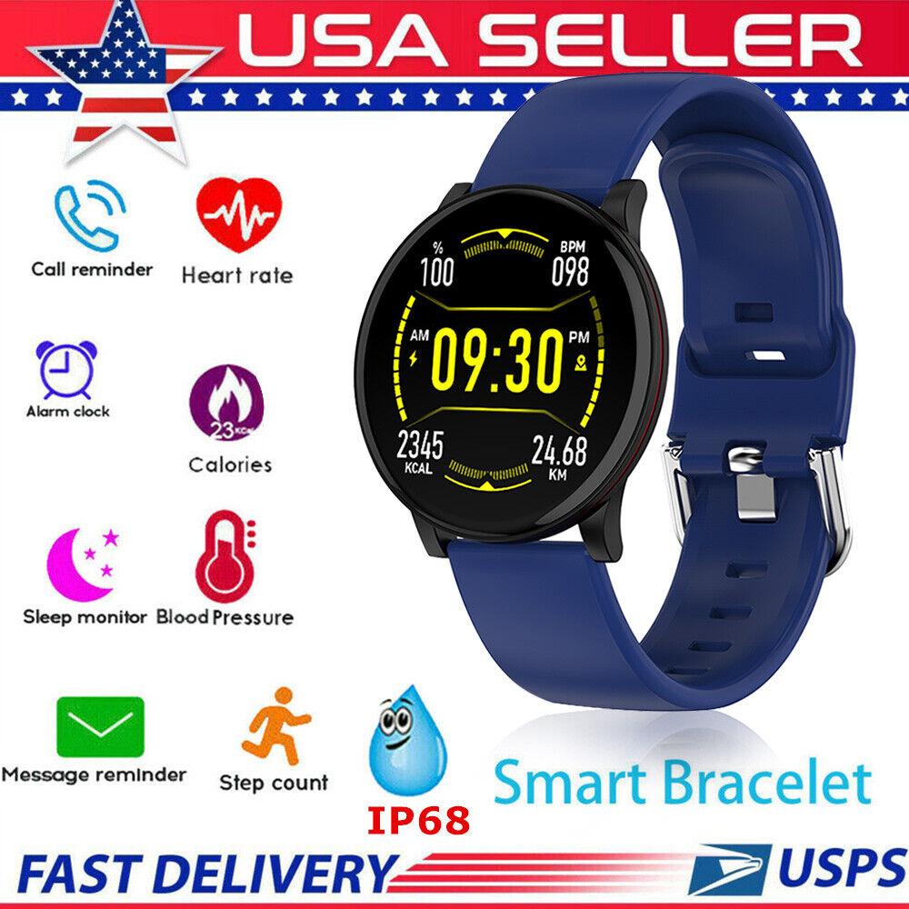 Waterproof Sport Smart Watch Blood Pressure Heart Rate Monitor iPhone Android *G blood Featured heart iphone monitor pressure rate smart sport watch waterproof