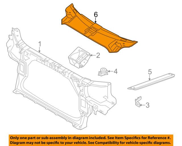Genuine Bumper cover AUDI A8 S8 quattro 4H2 4H8 4H0807081