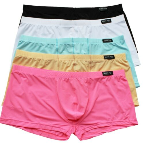 Underwear Boxers Shorts Men Boxer Trunks Pouch Casual Smooth Underpants Panties