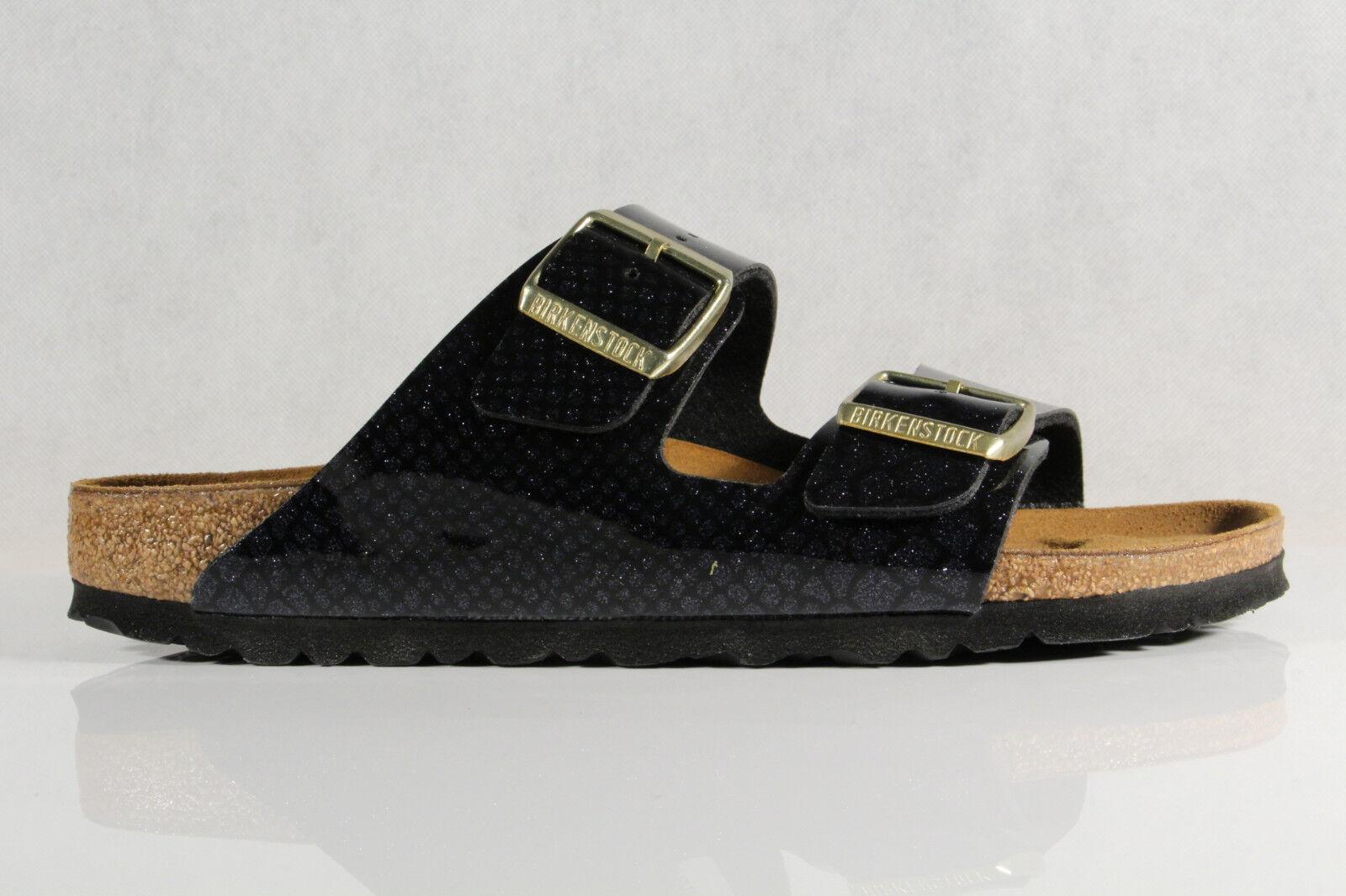 Birkenstock Pantolette Pantoletten Hausschuhe schwarz Pantoffel schwarz Hausschuhe NEU dc2288