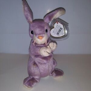Vintage McDonald/'s Ty Beanie Baby Springy the Lavender Bunny Happy Meal Toy Animal Rabbit