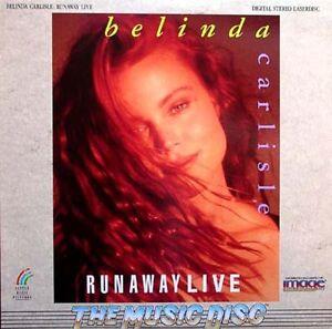 BELINDA-CARLISLE-Runaway-Live-Laser-Disc