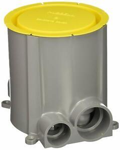 Hubbell S1pfb Non Metallic Round Systemone Floor Box