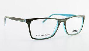 JOSHI-Brille-Mod-7610-Col-3-54-16-140-Hand-Made-Acetate-Eyeglasses-Frame-NEW