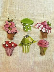 Cupcake-6-Iron-On-Fabric-Appliques