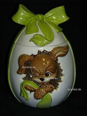 +# A015971_08 Goebel Archiv Muster Ostern Dose Can Box Hund Dog Ei Egg 83-554