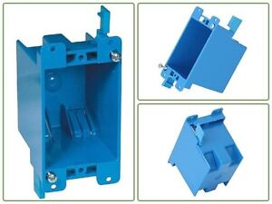 sourcing map Wall Switch Box Electrical Outlet Surface Mounting Cassette Single Gang