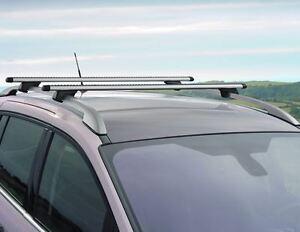 Ford Grand C Max 04 15 Genuine Roof Bars Roof Rack Vehicle With Roof Raiils Ebay