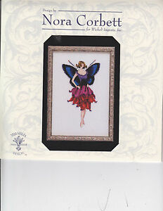 MD-Mirabilia-ANEMONE-cross-stitch-pattern-NC228-Pixie-Blossoms-Collection