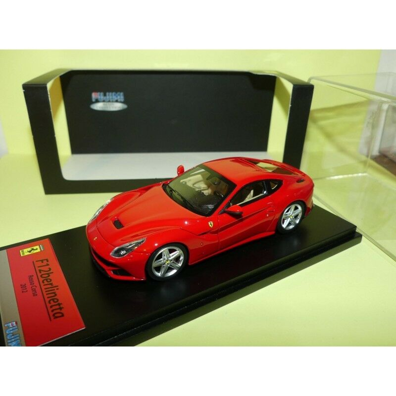 FERRARI F12 BERLINETTA 2013 red FUJIMI TRUE SCALE 1 43