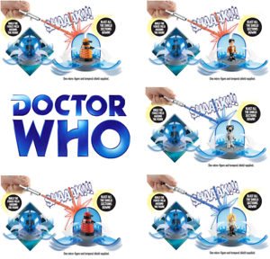 Doctor Who - Character Building Temporal Blast Combat (6 Units)