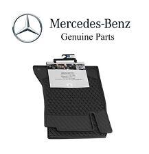 Mercedes-Benz C-Class Coupe 2017 All Weather Season Front Set Black Floor Mats