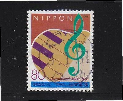 JAPAN 1996 INTERNATIONAL MUSIC DAY COMP. SET OF 1 STAMP SC#2540 IN FINE USED