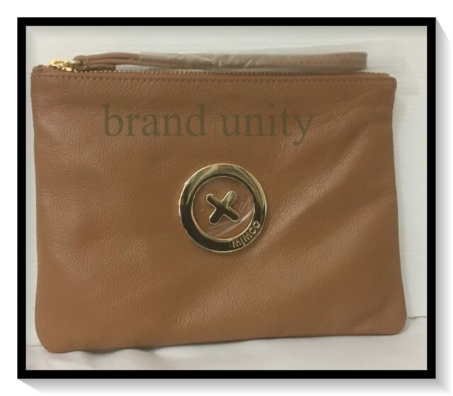 Mimco Medium Supernatural BNWT  RRP $99.95 Soft Leather Honey Gold
