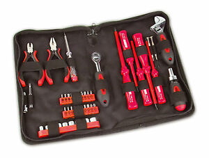 Mannesmann-Tool-Kit-Set-45pcs-1-4-034-Drive-VDE-Screwdriver-lt-gt-GS-VPA-TUV-approved