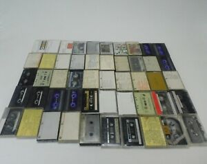 50 Cassette Tapes Mixed Rock Love Pop Country More 1970s 1980s 1990s Tape - TL-6