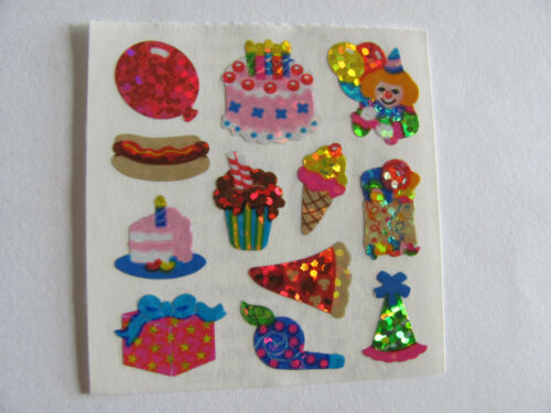 You Choose Vintage Sandylion Tea Time School Fun Party Camping Stickers Glitter