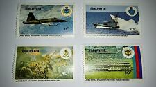 1983 Malaysia Armed Forces 50 Anniversary 4v Stamp Mint NH