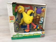 Big Bird 2000 Sesame Street Playtime Talker Fisher Price Talking Toy NRFB