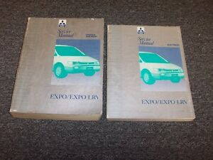 1992 1993 1994 1995 mitsubishi expo lrv shop service repair manual rh ebay com Body Parts 1995 Mitsubishi Expo Used Mitsubishi Expo LRV