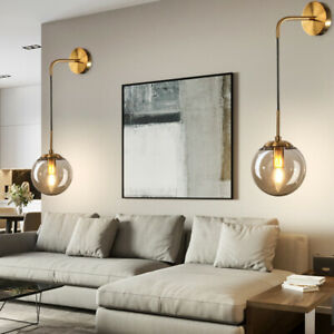Details About Bedroom Wall Light Home Gl Lamp Bar Modern Lighting Kitchen Sconce