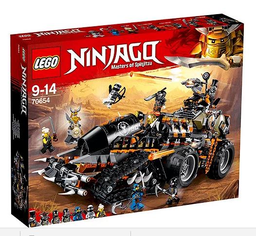 Lego Ninjago 70654 dieselnaut  NOUVEAU