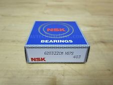 NSK BEARING DEEP GROOVE BALL BEARING  6203ZZ