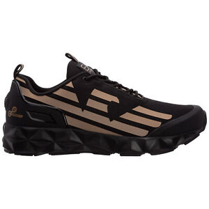Emporio Armani EA7 sneakers men c2 ultimate X8X033XCC52N406 Black rubber shoes