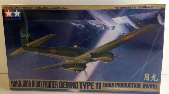 Tamiya 1/48 Gekko Type 11 Early Production Nakajima Night Fighter Irving Sealed
