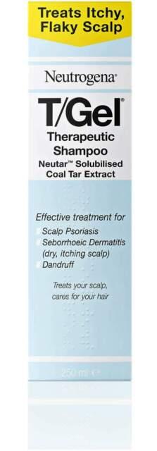 Neutrogena T/Gel Therapeutic Coal Tar Shampoo 250ml