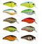 XCALIBUR XCS300 SQUARE LIP CRANKBAIT Assorted Colors