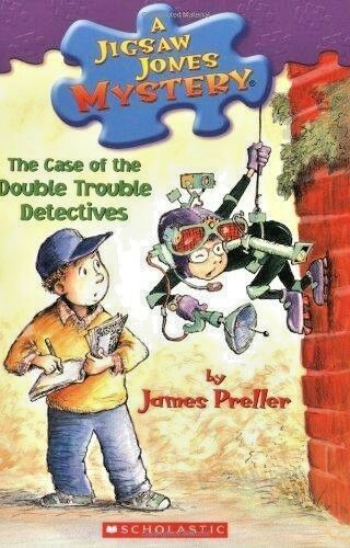 The Case of the Double Trouble Detectives (Jigsaw Jones Mystery No. 26) Preller