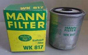 Mann-Kraftstofffilter-Olfilter-Filter-WK817