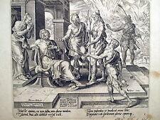 MULLER,Beati i poveri in spirito, perché di essi è regno dei cielo,STAMPA ANTICA