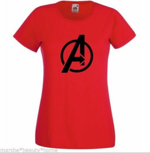 lady fit avengers T-shirt fruit of the loom made2order womans t-shirt MEDIUM