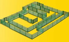 kibri 38603 Spur H0 Maschendrahtzaun grün Länge 280cm (Grundpreis 1m = 4,49 €)