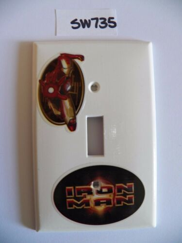 SUPERHEROES ~ Switchplate Cover Light Switch Electrical Outlet Hand Decorated