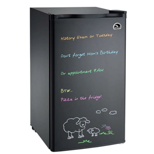 Igloo 3.2 CU FT White Dry Erase Board Compact Mini Fridge / Refrigerator  FR326
