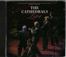 "THE CATHEDRALS..""LIVE""..""FROM JACKSONVILLE FLORIDA""...OOP LIVE GOSPEL CONCERT CD"