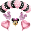 Disney-Minnie-Mouse-Birthday-Balloons-Foil-Latex-Party-Decorations-Gender-Reveal thumbnail 5