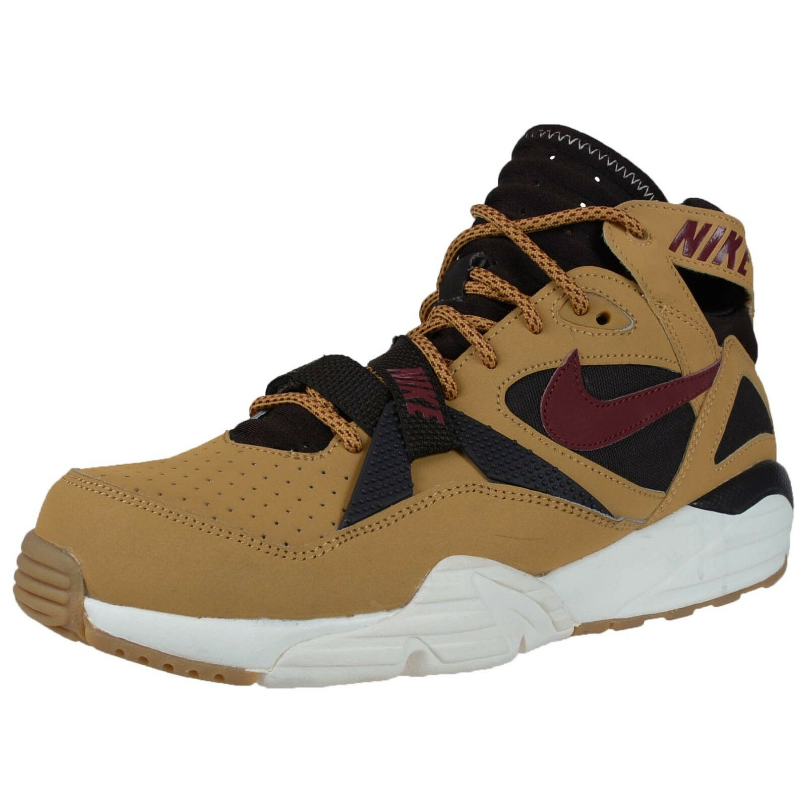 NIKE AIR TRAINER MAX '91 RETRO CROSS TRAINERS HAYSTACK TEAM RED BROWN 309748 700