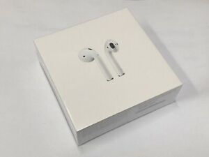 Apple Airpods 2nd Generation With Wireless Charging Case White New Sealed Ebay