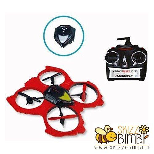 DRONE  spazioBUZZ 21 8 divertimentoZIONI RADIOCOuomoDO 2,4 GHZ 2 VELOCITA' LUCI LED USB  risparmiare sulla liquidazione