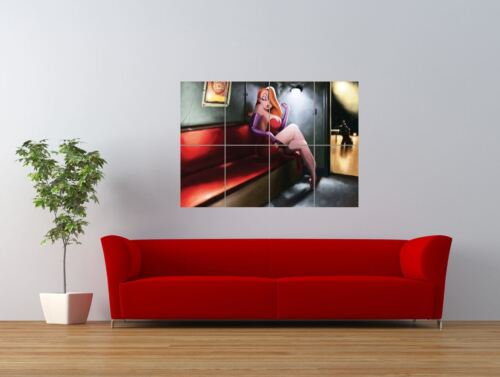 Jessica Rabbit Comic Cartoon Babe Giant Wall Art Poster Print