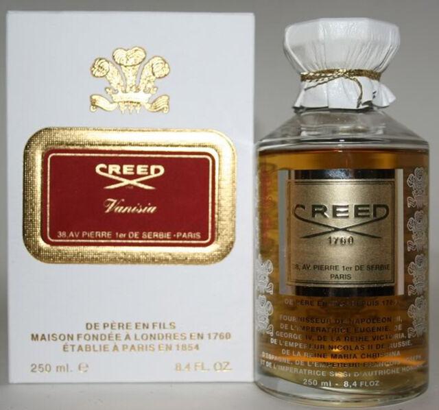 New In Box Creed Vanisia Millesime Flacon for Women Eau De Parfum 250ml 8.4  oz