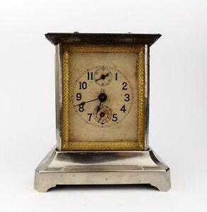 Antique 1910s German Hamburg America Carriage Alarm Clock ...
