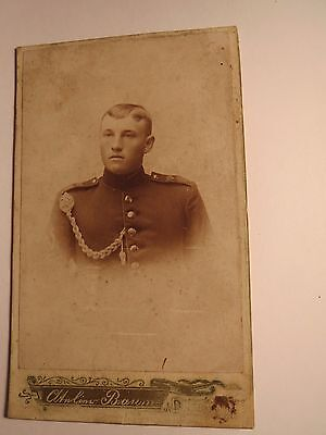 Dresden - Soldat In Uniform - Regiment Nr. 108 / Cdv Schrumpffrei