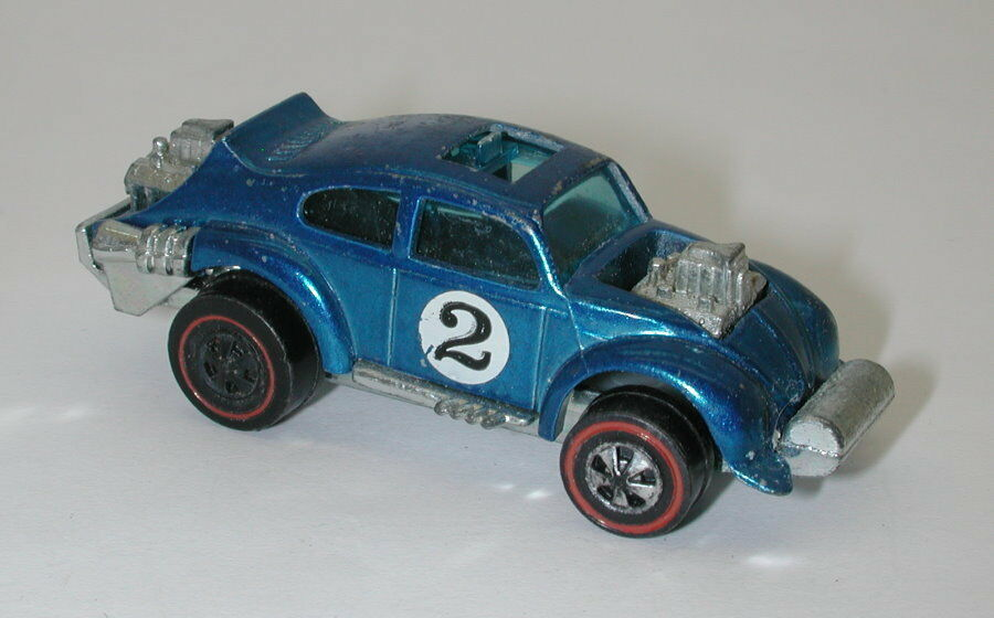 rojoline Hotwheels Azul 1971 mal gorgojo oc16449